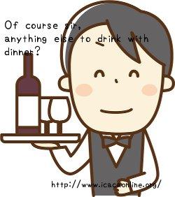レストラン英語